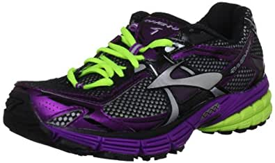 Brooks Women's Ravenna 4 W Trainer, Silver/Purple/Nightlife, 4 UK