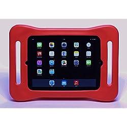 fatframe Kind/Kinder iPad Tasche Coral: Bouncy, leicht, Stürzen, stoßfeste Kids Tablet mit Griffen für Kinder, zu halten. Geeignet für iPad 2, iPad 3 und iPad 4 (iPad 2nd 3rd 4th Gen)
