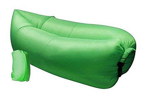 Comodo gonfiabile Lounger Air Sleeping sacchetto esterno di alta qualità, portatile Hangout ambientale di nylon (Gonfiabile Lounger)