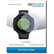 """2 x disGuard® Protector de pantalla Garmin Approach S5 Protectores de pantalla de película """"CrystalClear"""" invisible"""