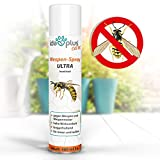 Ida Plus - Wespenspray Ultra gegen Wespen & Hornissen - Bekämpft alle Wespen & Wespennester in Haus, Garten, Dachböden - mit Sofortwirkung - Insektenvernichter zur Wespenbekämpfung - Anti Wespenspray