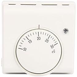 Langir mécanique 6A 220V thermostat contrôleur de température Thermoregulator pour climatisation et chauffage au sol chaudière à gaz