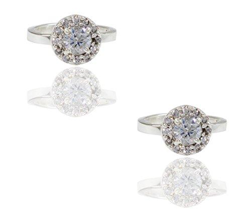 Frabjous Traditional White Adjustable Sterling Silver Toe Ring For Women