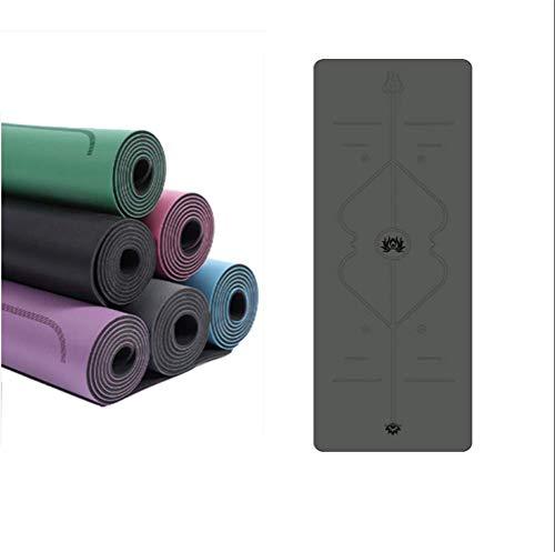 Jiahe Estera Yoga Caucho Natural PU Sistema alineación