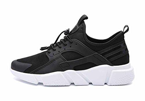 SHIXRAN Männer schnüren Sich Athletische Schuhe 2017 Herbst atmungsaktive Freizeitschuhe Low Top Komfortable Laufschuh (Farbe : Schwarz, Größe : 41)