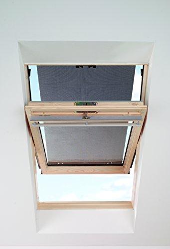 ITZALA Hitzeschutz-Markise für VELUX In Schwarz Dachfenster Rollo Sonnenschutz - 4260