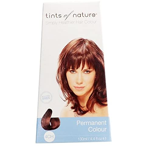 Tints of Nature Organic 4CH Rich Chocolate Brown Permanent Hair
