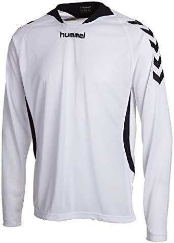 Hummel TEAM PLAYER POLY JERSEY LS - WHITE,