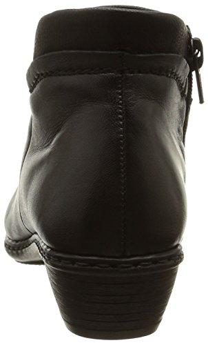 Rieker 72580-00, Bottes Classiques femme Noir