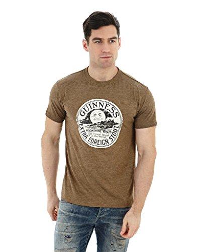 guinness-official-merchandise-camiseta-para-hombre-marron
