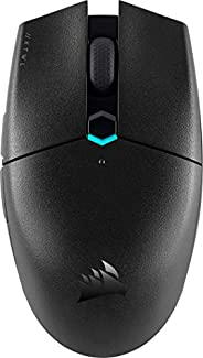 Corsair KATAR PRO WIRELESS Mouse Gaming, Sensore Ottico 10.000 DPI, Forma Simmetrica, Latenza Wireless Inferio