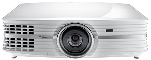Optoma UHD550X 4K DLP-Projektor (UHD Beamer, 3840 × 2160 Pixel, 2800 ANSI Lumen, HDMI, MHL, VGA) weiß