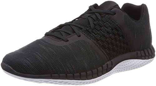 Reebok Print Run Dist, Chaussures de Running Compétition Homme Noir (Blackalloywhite Blackalloywhite)