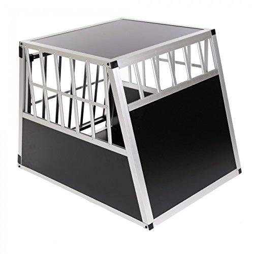 Zoomundo Cage De Transport Pour Chien Caisse Boite Mobile Box Aluminium 1  Porte Premium 8cc613731578