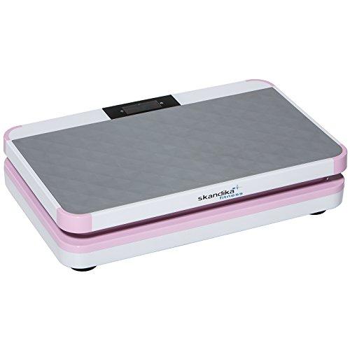 SKANDIKA Vibration Plate 800 - Plate-forme vibrante Design - 20 niveaux de vitesse