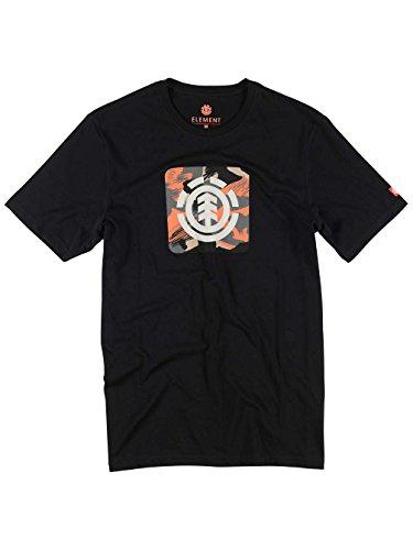 Herren T-Shirt Element Dpm Icon FR T-Shirt Black