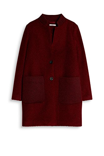 edc by ESPRIT Damen Mantel Rot (Garnet Red 620)