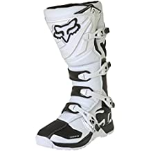 Fox Botas de Motocross Comp 5, Blanco, 46,5