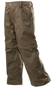 Gelert Boys Hill Zip Off Trouser - Dark Khaki, Size 11/12
