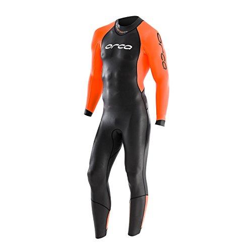 Roupa de neoprene Orca openwater Core para triathlon masculino, 10