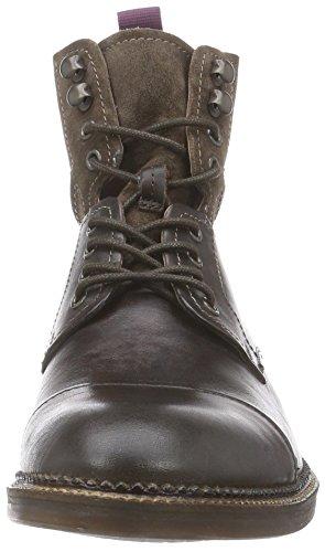 Clarks Bushwick Peak, Bottes homme Marron (Brown Leather)