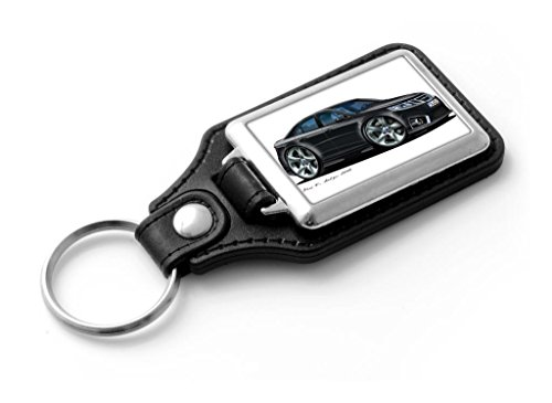 wickedartz-cartoon-car-saab-9-3-saloon-classic-style-key-ring-black