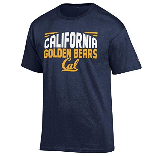 Champion NCAA Herren Push Ahead T-Shirt California Golden Bears Large - Golden Bears Basketball