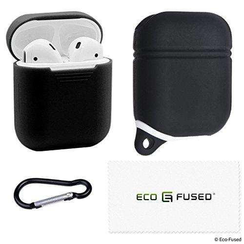 1x Wasserdichte und 1x kratzfeste Schutzhülle für Apple AirPods Gehäuse - Packung mit 2...