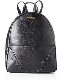 Trussardi Jeans Deco Edge Backpack Md Drummed Rucksack