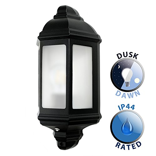traditional-black-aluminium-outdoor-garden-porch-wall-mounted-flush-ip44-rated-lantern-complete-with