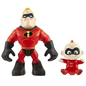 Incredibles 2 Disney 2 - 3 Pulgadas Precool 2-Pack Mr Incredible y Jack Pre Cool Figura
