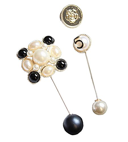 [Five] A Set of Broches Corsages Collar broches décoratives broche pour dames