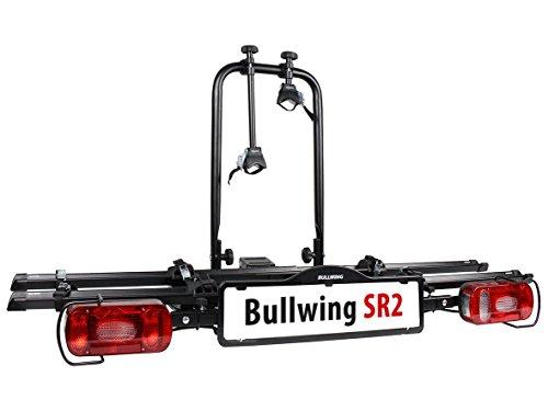 SR2 Fahrradträger für den Transport von 2 Fahrrädern, klappbar