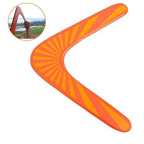 Aisoway Holz Boomerang Maneuver Dart Outdoor-sportgeräte Die Besten Fliegen Spielzeug Für Kinder