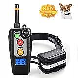 MINCHEDA Collare di Addestramento per Cani, Telecomando 500 Piedi, 100% IP67 Bip Impermeabile, Vibrazione, Ricaricabile