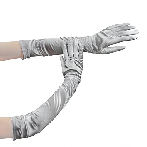 Liying Neu Lange Brauthandschuhe Fingerlos Handschuhe Hochzeit Party Damen Handschuhe Brautkleid