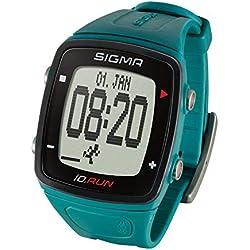 Sigma Sport iD.Run Montre GPS de Course à Pied, Mixte, 24820, Vert Sapin, Taille Unique