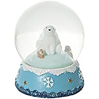 Globo de nieve navideña con oso polar un regalo para niños y adultos