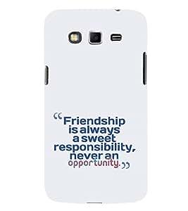 EPICCASE Sweet friendship Mobile Back Case Cover For Samsung Galaxy Grand Max (Designer Case)