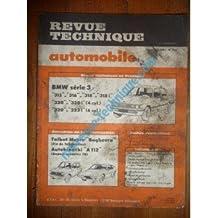 RTA0414 - REVUE TECHNIQUE AUTOMOBILE BMW SERIE 3 315 - 316 - 318 - 318i - 320 - 320i - 320i (4 cyl.) 320 - 323i (6 cyl.)