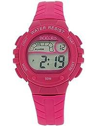 Reflex Tikkers RTK0003 Armbanduhr für Kinder, digital, mit Silikonband, Rosa