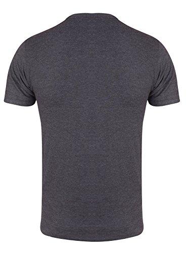 Goldsgym Muscle Joe T-Shirt, Grigio ( Charcoal Marl