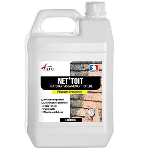 Nettoyant toiture rapide et puissant - NET'TOIT - Transparent, 20L