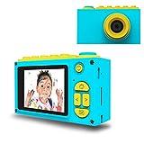 Kriogor Fotocamere Digitali per Bambini, Kids Camera Videocamera Zoom Digitale con HD 1080 /8MP/ Schermo LCD da 2 pollici/Scheda SD da 256M