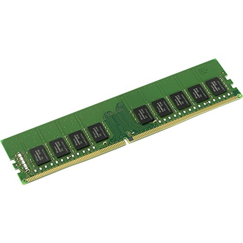 Price comparison product image Kingston KVR24E17S8 / 8MA 8 GB 2400 MHz DDR4 ECC CL17 DIMM micron A Memory,  Green