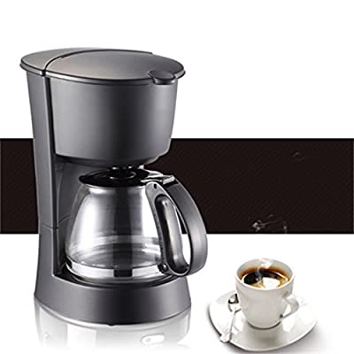 Black Stainless Steel Commercial Coffee Machine Semi-automatic Coffee Machine With Anti-drip Function from Home-Coffee machine