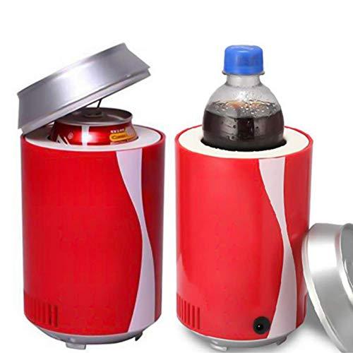 rank, automatisch Netzteil Tragbar KFZ USB Cola Dosen Kleinen Kühlschrank Dosen Elektronischer Kalt Größe: 11* 18cm ()