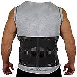 LLZGPZBD for Men Support Bar Bonewaist Support Sport Waistband Fitness Breathable Brace Lower Back Safety Belt