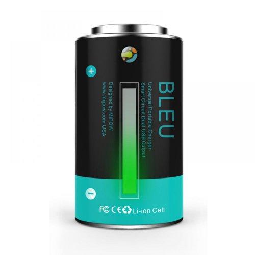 Mipow Power Tube 10000 Chargeur portable Bleu clair
