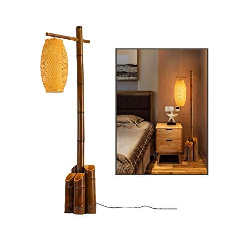 Vintage Bambus Stehlampe Kreative Antike Bambus Wohnzimmer Hotel Schlafzimmer Arbeitszimmer Restaurant Kinderzimmer Bekleidungsgeschäft Büro -